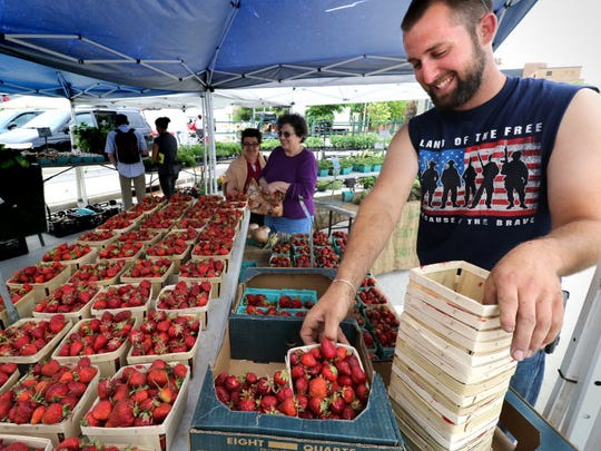 The South Milwaukee Downtown Market is open from 3 to 7 p.m. Thursdays.
