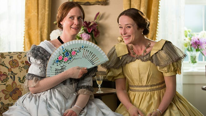 """Cynthia Nixon is the poet Emily Dickinson and Jennifer Ehle is her sister, Vinnie, in """"A Quiet Passion,"""" which opens Friday at the Malco Ridgeway."""