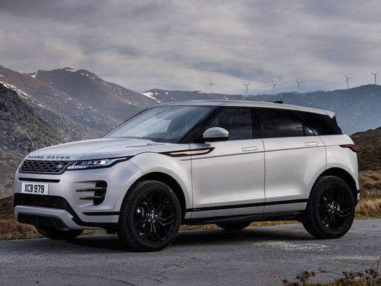 The 2020 Range Rover Evoque.