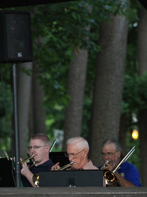 The Wausau Concert Band will perform at 7 p.m. today on The 400 Block in downtown Wausau.