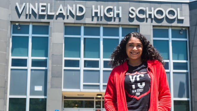Alexa Martir Rodriguez left Puerto Rico due to Hurricane Maria and is now graduating with the Vineland High School Class of 2018.