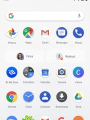 Suggested actions in Android P