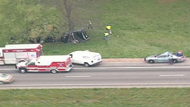 A one-vehicle accident April 6, 2015, on Interstate 85 northeast of Atlanta has killed members of two heavy metal bands, Wormreich and Khaotika.