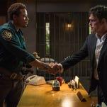 "Terrence Howard, left, and Matt Dillon star in Fox's ""Wayward Pines."""