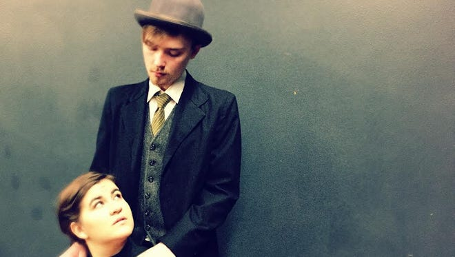 "Willamette University Theatre's ""Vincent in Brixton"" features actors Abbi Manoucheri and Will Forkin. The award-winning play about young van Gogh's falling in love runs Feb. 18-27 at Willamette's Pelton Theatre."