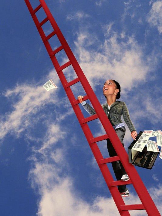 climibing career ladder