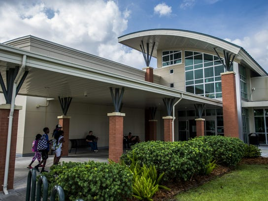 The South Regional Library on Johnston Street, a Lafayette Parish public library, will be 10 years old in 2019. It is shown in a file photo from 2015.
