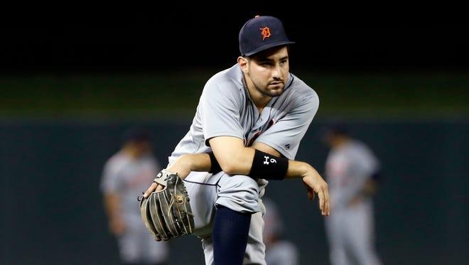Detroit Tigers third baseman Nick Castellanos.