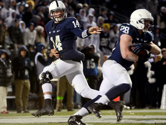 Christian Hackenberg will be starring in prime time at least three times this fall.