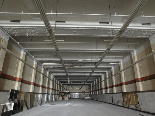 The first floor of the old Kress Store building on