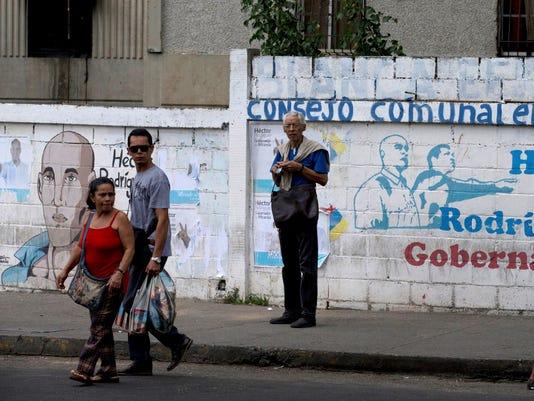 AP VENEZUELA REGIONAL ELECTIONS - CHAVISMO I VEN