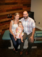 Dr. Josh Ort and his wife and business manager, Danyelle,