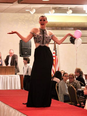 Courtney Ricci was on the runway during a previous Vineland Regional Dance Company fashion show. This year's event will be held at 6 p.m. April 18 at Merighi's Savoy Inn, East Landis Avenue and Union Road in East Vineland.