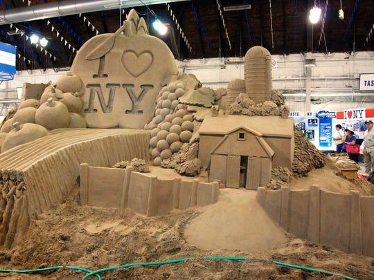 NY State Fair Sand Castles