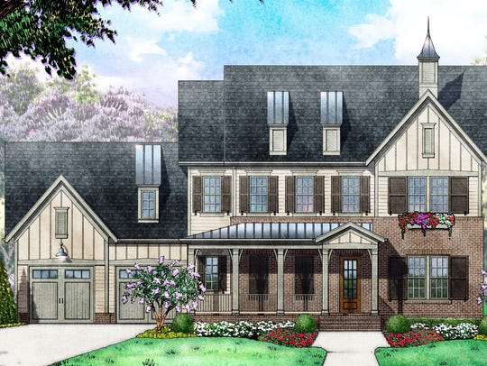 This spec home at 514 Rochester Close in Franklin is
