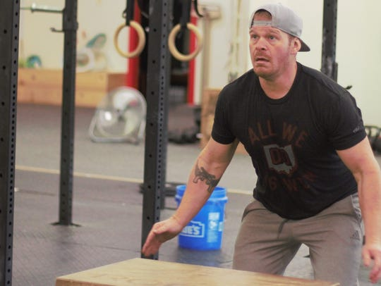 Corey Tucker, who co-owns Narrow Road CrossFit off