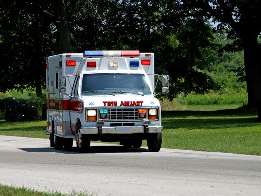 Ambulance on Country Road