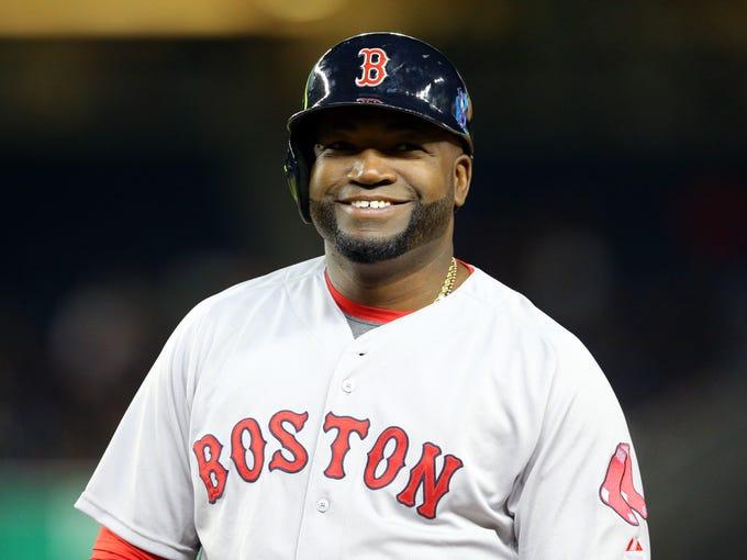 Sep 30, 2015; Bronx, NY, USA; Boston Red Sox designated