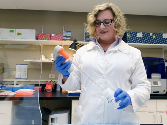 IQuity Clinical Laboratory Supervisor Michelle Marlow