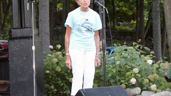 As one of the organizers serving on the Mrs. Stock's Park Summer Concert committee, Fallon welcomed visitors to the park each season.