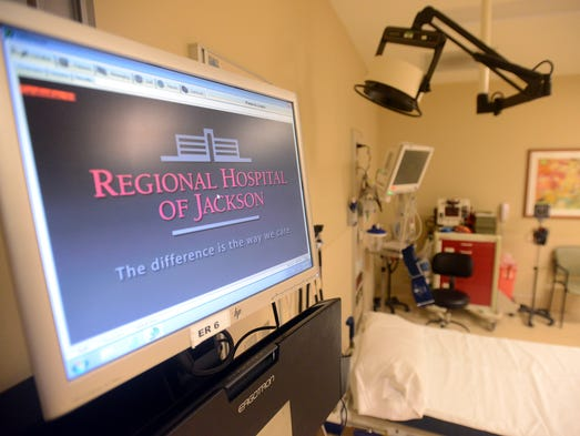 A ribbon cutting ceremony was held for the newly renovated emergeny room at Regional Hospital of Jackson, Thursday morning.