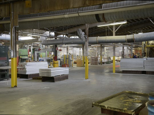 Some production remains at the Algoma Hardwoods plant owned by Masonite International Corp. The company is moving door manufacturing to other sites.