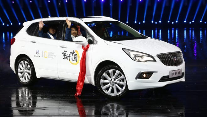 The Buick Envision is already on sale in China and may be imported to the U.S.