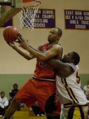 Churchville-Chili'sTony Shaw gets this rebound over