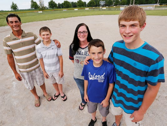 LAF Teen saves life of 12-year-old ball player