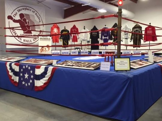 The International Boxing Hall of Fame has on permanent display the ring used at Madison Square Garden from 1925 to 2007.