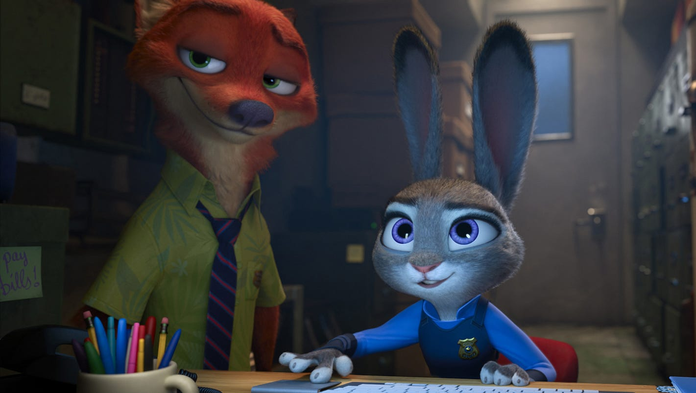 Zootopia' animal world reflects human issues