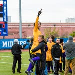 Rhinebeck High School defeated World of Inquiry to take home the New York State Class C Title at Middletown High School on Sunday, November 16, 2014.