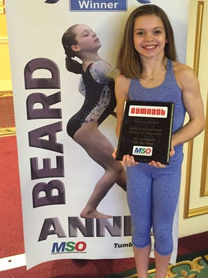 Annie Beard is an Alexandria native who moved to Texas to pursue her dream of becoming an elite gymnast. She recently was selected out of more than 17,000 girls as International Gymnast Magazine's 2015 Gymnast of the Year.