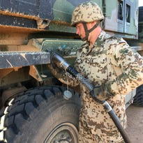 German air force maintains training mission at Fort Bliss despite downsizing