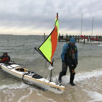 Everglades Challenge: Father and son  paddle 300 miles of open water