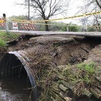 It turns out a sinkhole was not the reason a road partially collapsed in New Berlin