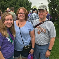 Rain-shortened Canton Relay for Life draws good crowd