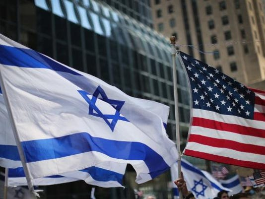 Pro-Israeli Activists Hold Rally In Chicago