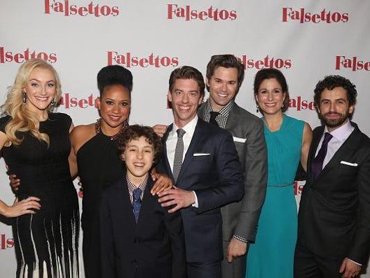 """Falsettos"" Opening Night - Press Room"
