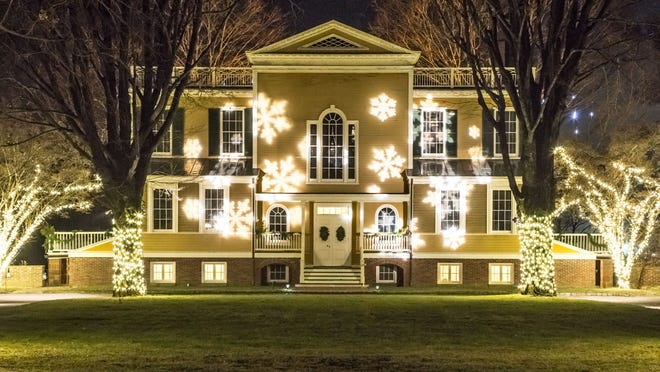 Boscobel House & Gardens is open for holiday tours.