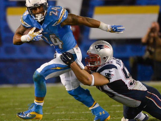 NFL: New England Patriots at San Diego Chargers