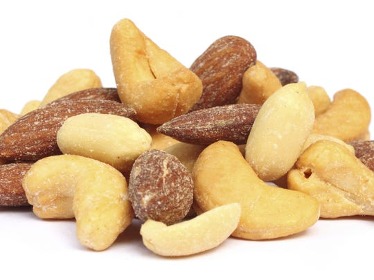 Salted Nuts | Eight to 12 Months
