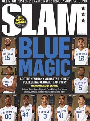 UK's SLAM magazine cover.