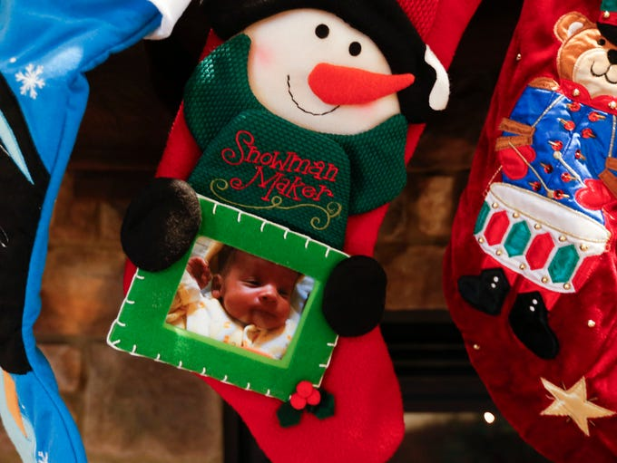 A stocking for Dante Washington, who died of a rare