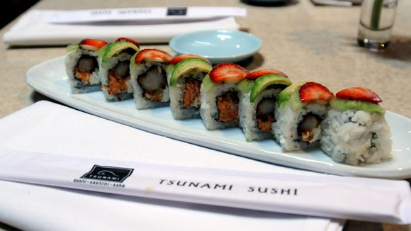 Tsunami Sushi recently opened a location in Cypress