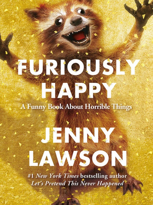 Interview: Jenny Lawson, author of 'Furiously Happy'