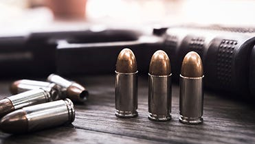 The ATF and NSSF are offering a $5,000 reward for information leading to the arrest of those responsible for the theft of 18 handguns from a Lancaster County story early Tuesday morning.