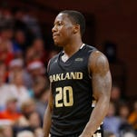 Oakland Golden Grizzlies guard Kay Felder (20) was taken by the Cleveland Cavaliers at 54.