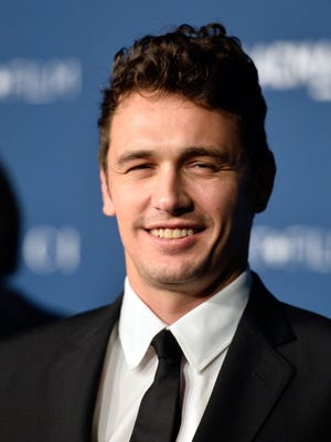James Franco, in a professional picture taken last month in L.A.