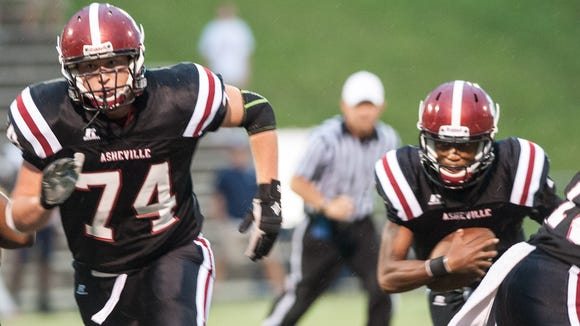 Asheville High is 3-1 after Friday's home loss to Knoxville West (Tenn.).